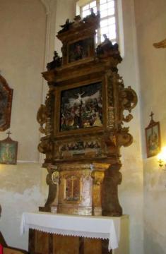 Oltář zeŽďáru byl odvezen doJesenického kostela