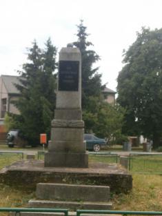 Pomník Obětem padlým vII.sv.válce 2015